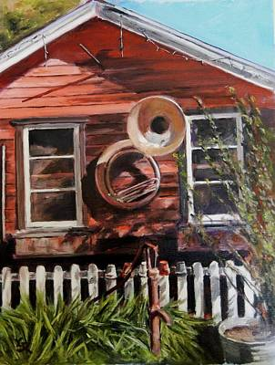 Painting - House Music by George Kramer