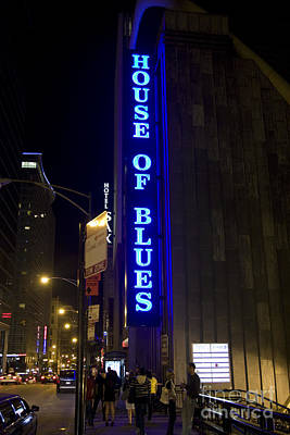Chicago Photograph - House Of Blues In Chicago by Christopher Purcell