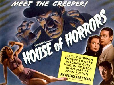 House Of Horrors, Rondo Hatton Print by Everett
