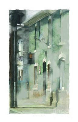 House On Barton Street Print by Bob Salo