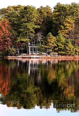 House On The Lake Print by John Rizzuto