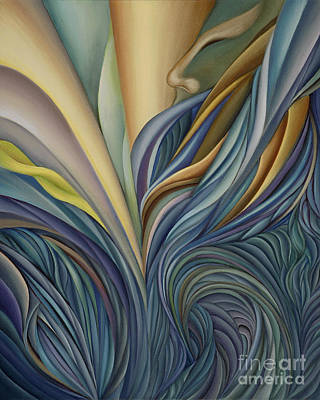 Curvilinear Painting - How Many More by Joanna Pregon