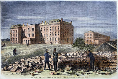 Howard University, 1869 Print by Granger