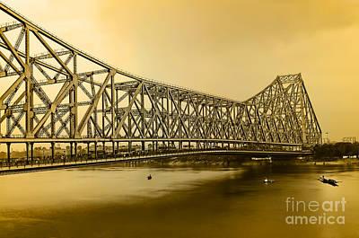 Howrah Bridge Print by Mukesh Srivastava
