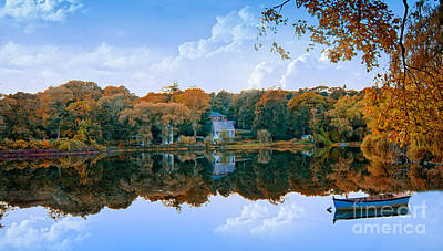 Waterview Photograph - Hoxie Pond by Gina Cormier