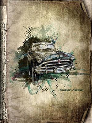 Hudson Hornet Print by Svetlana Sewell