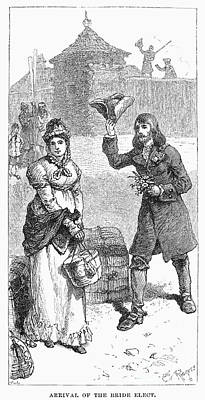 Hudsons Bay Company: Bride Print by Granger