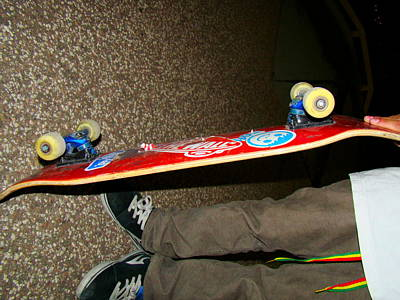 Danny Garcia Photograph - Hue Of A Skater by Danny Garcia