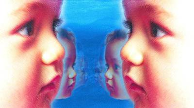 Human Cloning, Conceptual Artwork Print by Hannah Gal
