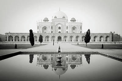 Humayun Tomb Print by Dhmig Photography