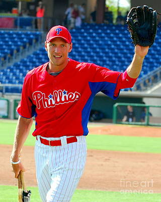 Hunter Pence Photograph - Hunter Pence by Carol Christopher