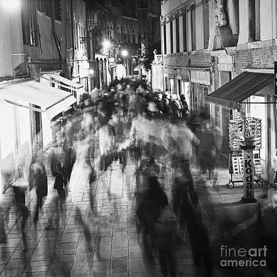 Hustle And Bustle Print by Heiko Koehrer-Wagner