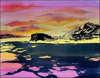 Hut Point Antarctica Print by Carolyn Doe