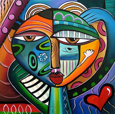 Pop Art Drawing - Hypnotik by Tom Fedro - Fidostudio