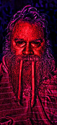Asparagus Digital Art - I Am The Walrus by Gregory Scott