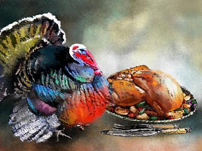 Turkey Digital Art - I Miss You So Much by Miki De Goodaboom