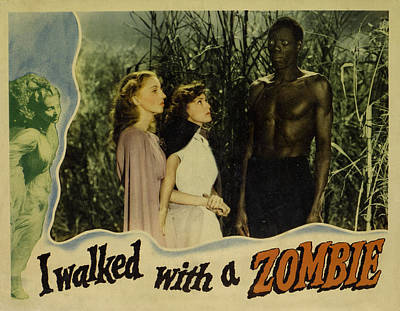 I Walked With A Zombie, From Left Print by Everett