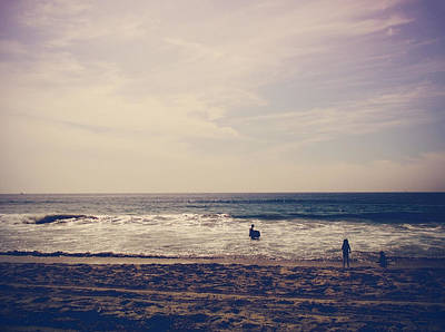 Carlsbad Photograph - I Want To Swim In The Ocean With You by Laurie Search