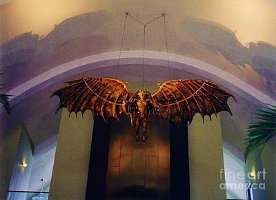 Icarus In The Louis Armstrong International Airport In New Orleans Print by John Malone