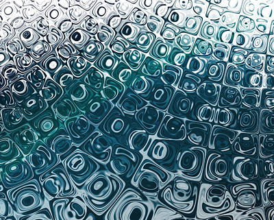 Ice Cubes Print by Pam Blackstone