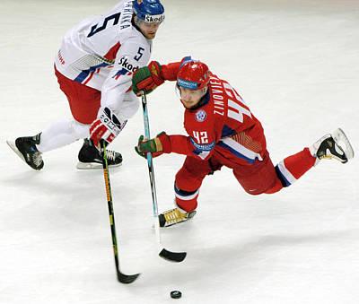 Ice Hockey Print by Ria Novosti
