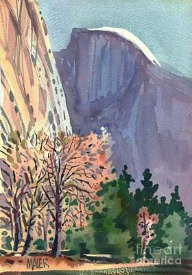 Yosemite National Park Painting - Icon Yosemite by Donald Maier