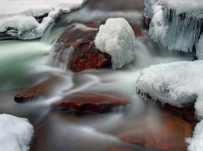 Norway Photograph - Icy River by Haakon Nygård