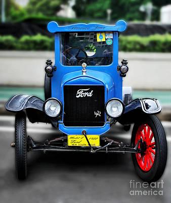 I'm Cute - 1922 Model T Ford Print by Kaye Menner