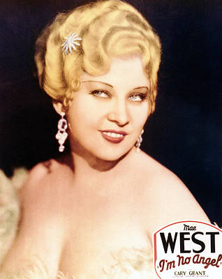 Dangle Earrings Photograph - Im No Angel, Mae West, 1933 by Everett