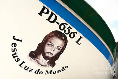 Image Of Jesus Print by Gaspar Avila