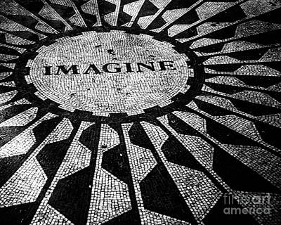 Strawberry Fields Photograph - Imagine by Ken Marsh