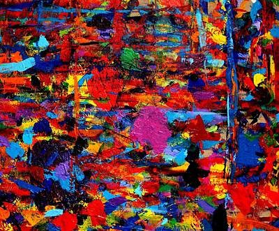 Abstract Expressionism Painting - Imma   64 by John  Nolan