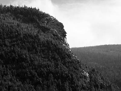 Photograph - Imp Mountain Profile Bw II by Frank LaFerriere