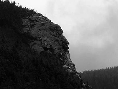 Photograph - Imp Mountain Profile Bw Iv by Frank LaFerriere