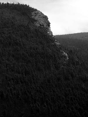 Photograph - Imp Mountain Profile Bw V by Frank LaFerriere