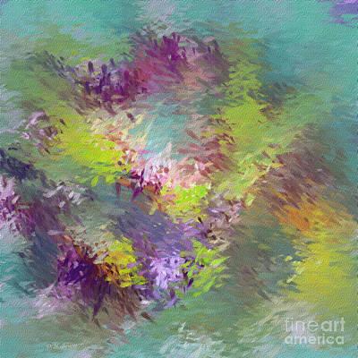 Abstarct Digital Art - Impressionistic Abstract by Deborah Benoit