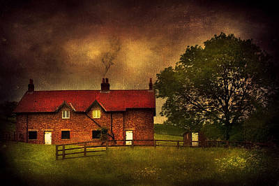 In A Village Print by Svetlana Sewell