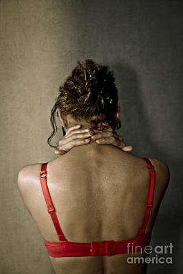 Naked Prostitute Photograph - In Front Of The Wall by Pierre-jean Grouille