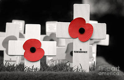 In Remembrance Print by Jane Rix