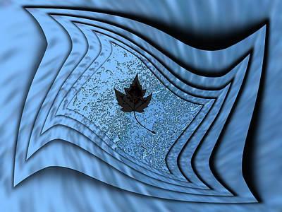 Red Cross Digital Art - In The Eye Of The Storm 2 by Tim Allen