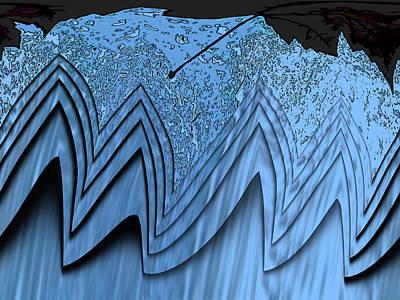 Red Cross Digital Art - In The Eye Of The Storm 3 by Tim Allen