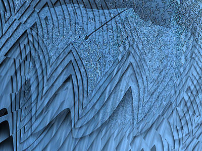 Red Cross Digital Art - In The Eye Of The Storm 4 by Tim Allen