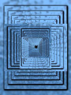 Red Cross Digital Art - In The Eye Of The Storm 6 by Tim Allen