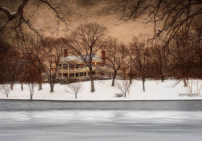 In The Midst Of Winter Print by Robin-lee Vieira