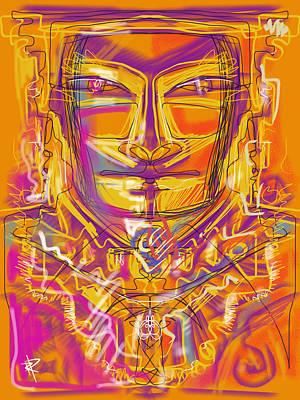 Inca King Print by Russell Pierce