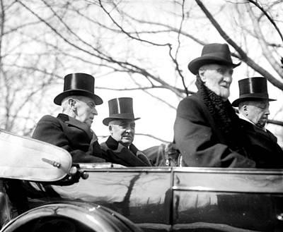 Incoming President Warren G. Harding Print by Everett