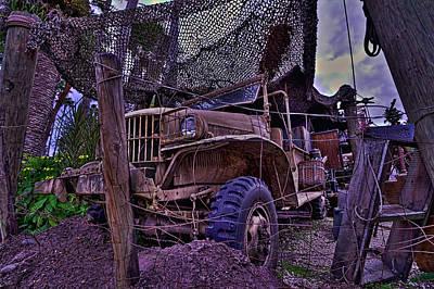 Indiana Jones Jeep Hdr Original by Jason Blalock