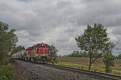 Southern Indiana Photograph - Indiana Southern 4051 At Mackey Indiana by Jim Pearson