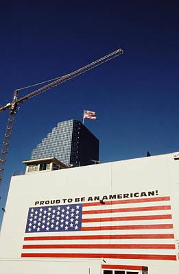 Industrious America Print by David Hebble