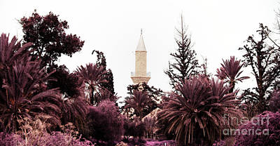 Cyprus Photograph - infrared Hala Sultan Tekke by Stelios Kleanthous